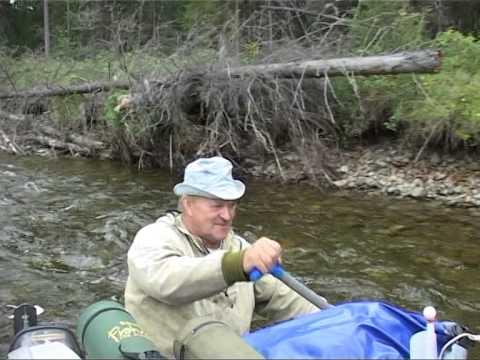 рыбалка на реке часть 1