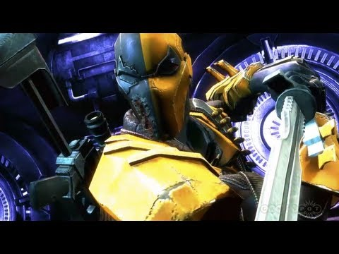 Deathstroke Confirmed for Injustice: Gods Among Us, Gets Video