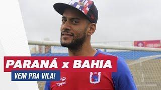 Estão falando por aí que o time deles já está na próxima fase da Copa do Brasil e o paredão Tricolor convoca você, torcedor paranista, para a decisão de ...