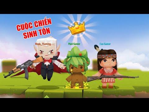MINI GAME : PUBG TRONG MINI WORLD **  CUỘC CHIẾN SINH TỒN NOOB TEAM TRONG MAP MỚI - Thời lượng: 22:04.