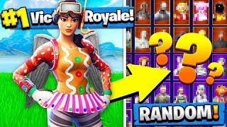 the greatest random fortnite skin challenge you will ever see..