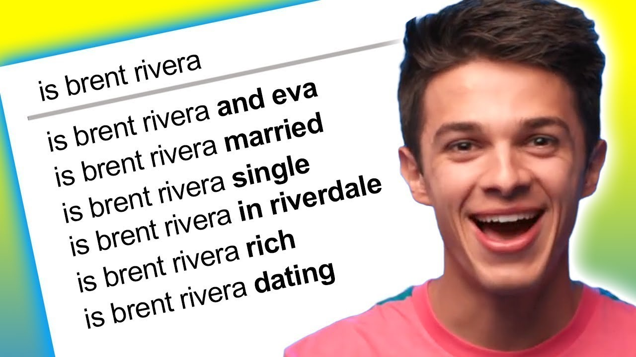 Brent Rivera Answers the Web's Most Searched Questions - YouTube