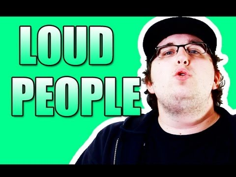justturnonthecamera - LOUD OBNOXIOUS PEOPLE SUCK! What do you think slackers? Want to send me something in the mail for me to show in a video or for me to sign? (make it self addr...