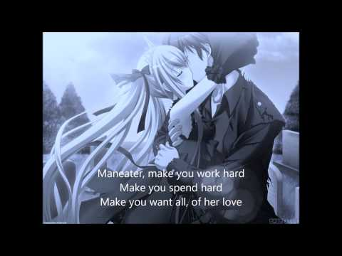 Man Eater - Nelly Furtado [Lyrics, Nightcore]