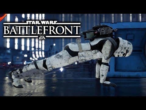 Star Wars Battlefront - Funny Moments #10 luke fails (видео)