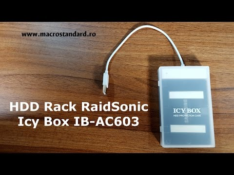 HDD Rack RaidSonic Icy Box IB-AC603