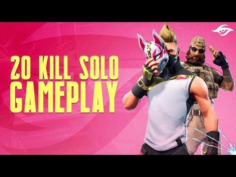 20 Kill Solo On Stream / Insane Kills Late Game