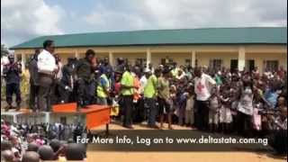Aki and Pawpaw visits Delta State Rehabilitation Camps