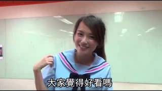 制服選美 永平工商俏藍裙奪冠--蘋果日報 20140602