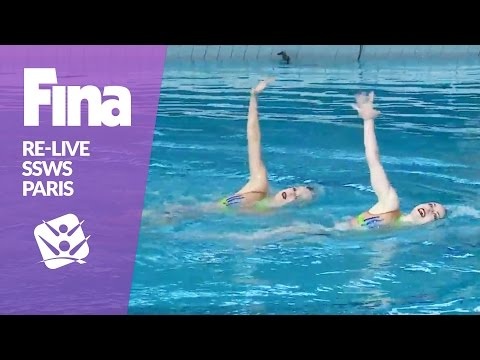 LIVE | Technical & Mixed Duet | FINA Synchronised Swimming World Series 2017 - Paris