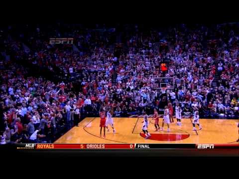 Troy Daniels clutch 3 pointer - R1G3