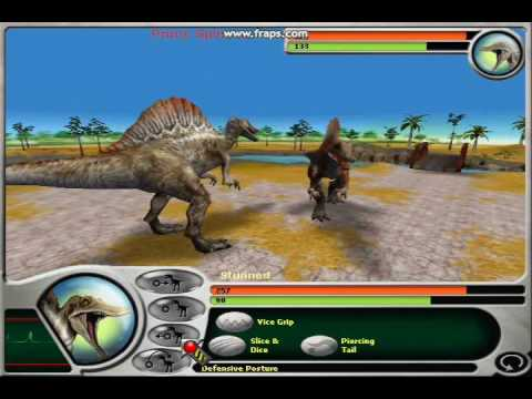 Jurassic Park Dinosaur Battles Part 11 Spinosaurus on My Best Savefile