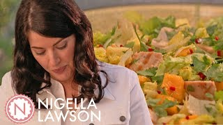 Video Nigella's Golden Jubilee Chicken With Mango Salad   Forever Summer With Nigella MP3, 3GP, MP4, WEBM, AVI, FLV Agustus 2019