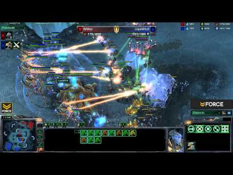 IMMVP - Force Strategy Gaming presents: Huk [P] vs IMMVP [T] Replay of this game available here: http://sc2rep.com/replays/%28%29IMMvp_vs_%28%29LiquidHuK_xel_naga_ca...