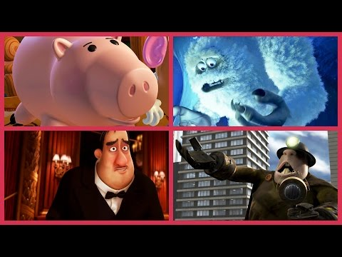 Pixar Secrets | John Ratzenberger In Every Disney•Pixar Film | Oh My Disney