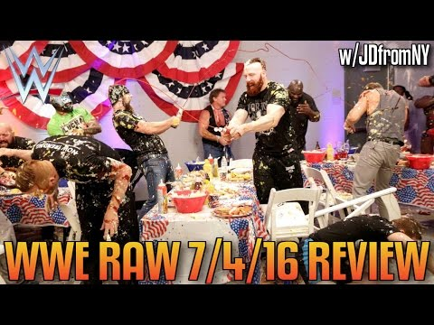 WWE Raw 7/4/16 Review: WWE Embarrassed The 4th Of July With One Of The Worst Raw's EVER