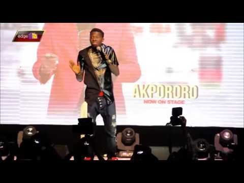 akpororo cracks joke on president buhari at kiss daniel album launch