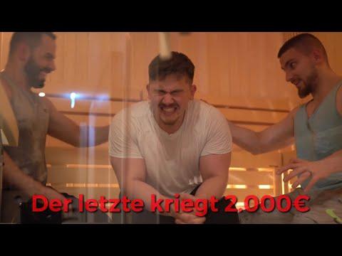 2.000€ Sauna-Challenge | wer bleibt am längsten drin?
