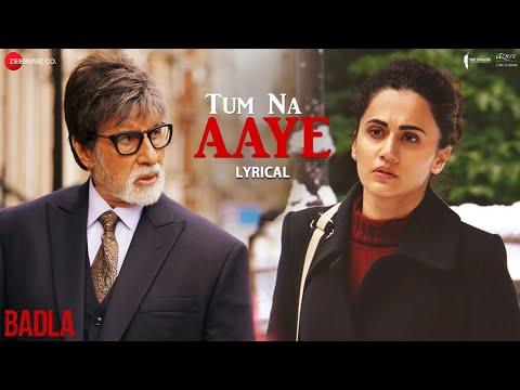 Tum Na Aaye - Lyrical | Badla | Amitabh Bachchan & Taapsee Pannu | KK | Amaal Mallik