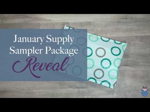 January Supply Sampler Reveal/Unboxing