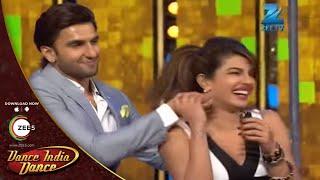 Video Priyanka, Ranveer and Arjun's Masti On Dance India Dance Season 4 - Full Episode MP3, 3GP, MP4, WEBM, AVI, FLV Agustus 2018