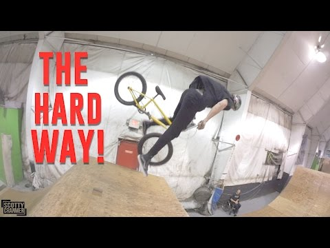 TEACHING BIG BOY HOW TO 720! (видео)