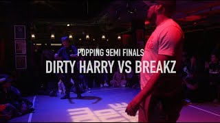 SHOW AND PROVE THE BATTLES 2017 | POPPING SEMI FINALS | DIRTY HARRY VS BREAKZ