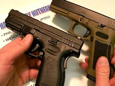 Springfield XD9:  Good Glock Alternative
