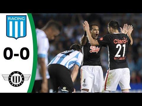 Resumen Racing 0 vs 0 Libertad - Conmebol Sudamericana