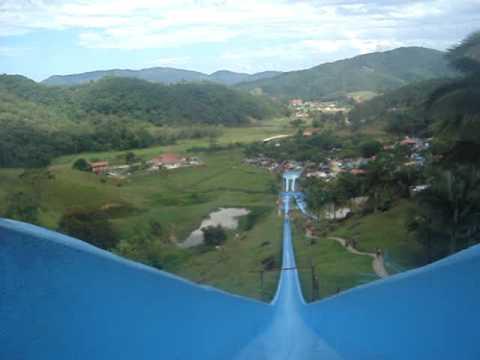 parque aquático arco íris,toboágua,250mde alt. HELAYNE E GIULIANO
