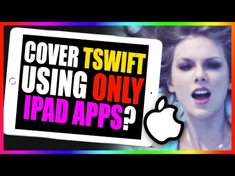 Using - A friend challenged me to cover a song using only free music apps on my iPad. I accepted and decided to tackle Taylor Swift's new song,