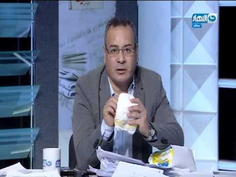 العرب اليوم - جابر القرموطي يظهر بحفاضات على الهواء