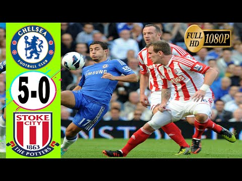 Chelsea VS Stoke City (5-0) Highlight & All Goals..