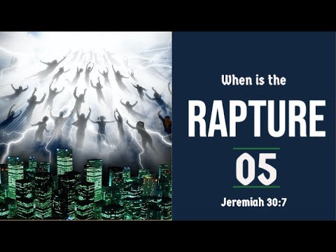 The Rapture Sermon Series 05. When is the Rapture? - part 1. Dr Andrew Woods