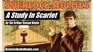 A STUDY IN SCARLET - FULL AudioBook - Sherlock Holmes