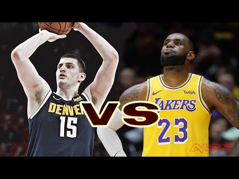 Los Angeles Lakers vs Denver Nuggets - Regular Season - Dec, 3 - NBA 2K20