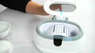CD2800 Jewelry Cleaner Reviews YouTube video