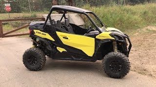 8. 2019 Can-Am Maverick Sport 1000R Walk Around & First Impressions