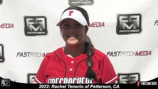 2022 Rachel Tenorio Third Base Softball Skills Video - Firecrackers