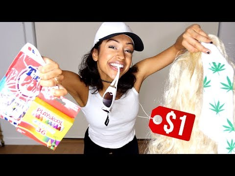 Download WEARING DOLLAR STORE OUTFITS! + DOLLA HAUL! HD Mp4 3GP Video and MP3
