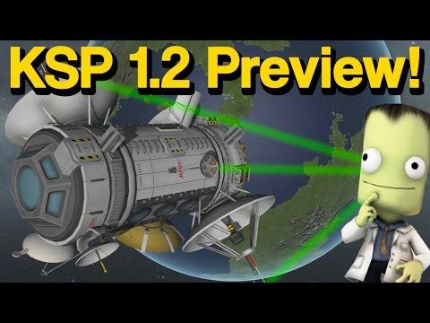 Видео превью к версии KSP 1.2