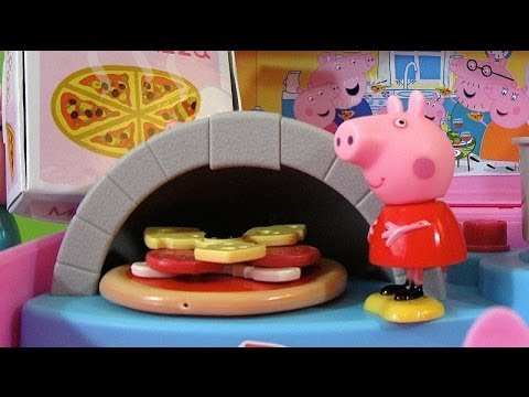 Peppa Pig Pizzeria Playset Carry Case