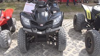 10. Kymco MXU 250 On Road ATV Exterior and Interior