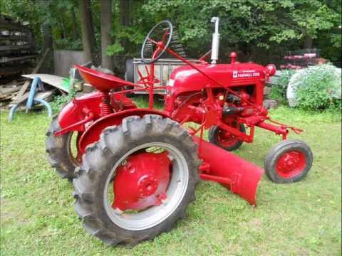 1948 FarmAll Cub Leveling and Grader Blade