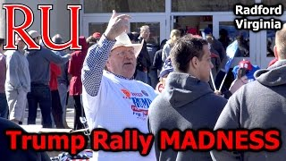 Radford (VA) United States  city pictures gallery : Vlog - Donald Trump Rally MADNESS in Radford Virginia (Radford University) - Make America Dank Again