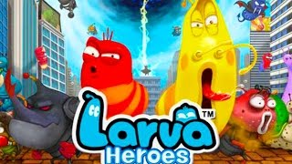 Larva Heroes EP2 ios/android gameplay - LARVA full episode