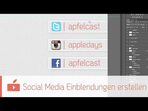 Premiere Pro Tutorial #21 – Social Media Einblendungen erstellen 'Folgt mir auf…!' usw.