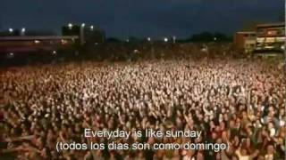 Morrissey : Everyday is like sunday Subtitulado