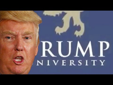 Trump's University Students Taught How To Swindle Trump University Students