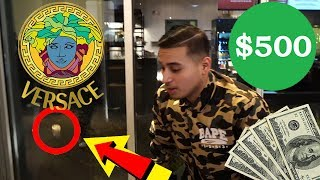 Flipped a coin and WON A VERSACE SHIRT!